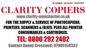 Clarity Copiers - Tee 11